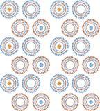 Vector bloem naadloos patroon Stock Fotografie