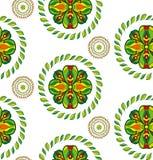 Vector bloem naadloos patroon Stock Afbeeldingen