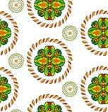 Vector bloem naadloos patroon Royalty-vrije Stock Fotografie