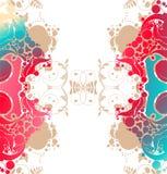 Vector bloemachtergrond vector illustratie