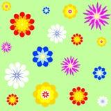 Vector bloemachtergrond Stock Afbeelding