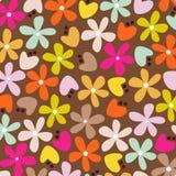 Vector bloemachtergrond Royalty-vrije Stock Foto's