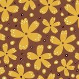 Vector bloemachtergrond Stock Foto