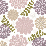 Vector bloemachtergrond Royalty-vrije Stock Foto