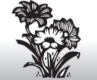 Vector bloemen Stock Foto's