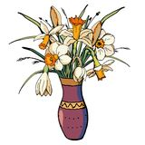 Vector bloemen stock illustratie