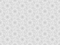 Vector Bloemen 3d Naadloze Patroonachtergrond Stock Fotografie