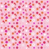 Vector bloemen naadloos patroon Royalty-vrije Stock Afbeeldingen