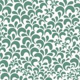 Vector bloemen naadloos patroon op witte achtergrond vector illustratie