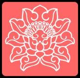 Vector bloemenachtergrond Royalty-vrije Stock Foto's