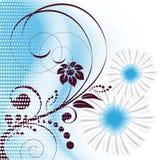 Vector bloemenachtergrond royalty-vrije illustratie