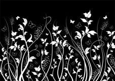 Vector bloemenachtergrond Royalty-vrije Stock Afbeelding