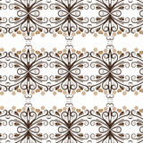 Vector bloemenachtergrond desig royalty-vrije illustratie
