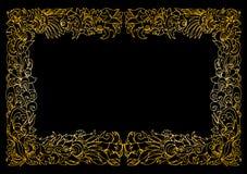 Vector bloemenframe Royalty-vrije Stock Afbeelding