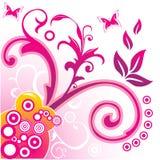 Vector bloemenillustratie Stock Foto