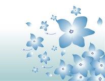 Vector bloemenillustratie Stock Afbeelding