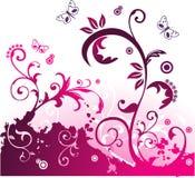 Vector bloemenillustratie Stock Foto's