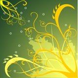 Vector bloemenillustratie Royalty-vrije Stock Foto