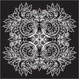 Vector bloemenkant Royalty-vrije Stock Afbeeldingen