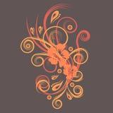 Vector bloemenontwerp royalty-vrije illustratie