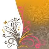 Vector bloemenontwerp stock illustratie