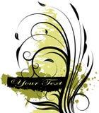 Vector bloemenontwerp Royalty-vrije Stock Afbeelding