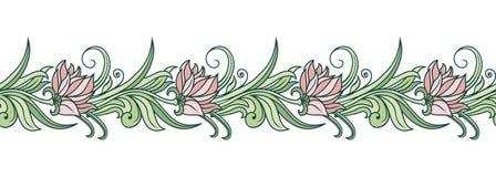 Vector bloemenornament Royalty-vrije Stock Afbeelding