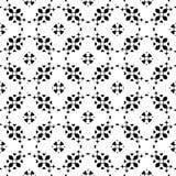 Vector bloemenornament, sier naadloos patroon Royalty-vrije Stock Foto