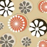 Vector bloemenpatroon Royalty-vrije Stock Foto