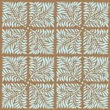 Vector bloemenpatroon Stock Afbeelding