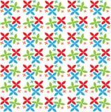 Vector bloemenpatroonachtergrond voor kunstontwerpen Stock Foto's