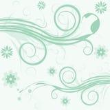 Vector bloemillustratie royalty-vrije illustratie