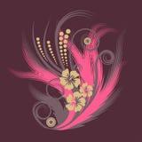 Vector bloemillustratie vector illustratie