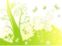 Vector bloemillustratie Stock Foto