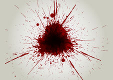 Vector blood color splatter background. illustration  desi Royalty Free Stock Image