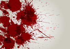 Vector blood splatter background. illustration  design Stock Photography