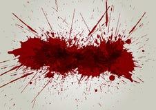 Vector blood splatter background. illustration  design Stock Photos