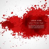 Vector blood splatter stain background. Blood splatter stain background vector Royalty Free Stock Photos