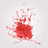 Vector blood splatter Royalty Free Stock Image