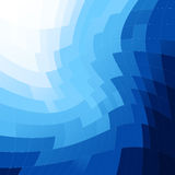 Vector blue abstract background Royalty Free Stock Photo