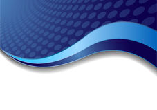 Vector blue background with circle stock photography