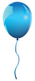 Vector blue balloon Royalty Free Stock Images