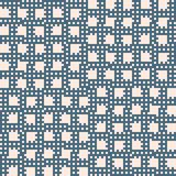 Vector blue and beige geometric seamless pattern with small squares, grid, net. Vector geometric seamless pattern with small squares, grid, net, lattice, repeat vector illustration