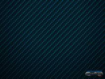 Vector blue carbon fiber volume background. Abstract decoration cloth material wallpaper with shadow for car tuning or service stock illustration