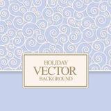 Vector blue card design Stock Photos