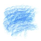 Vector blue chalk background Stock Image