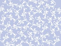 Vector Blue Filigree Background. Vector Blue Background with white filigree design for use in website wallpaper design, presentation, desktop, invitation or vector illustration