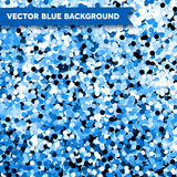 Vector Blue Glittering background Stock Photos