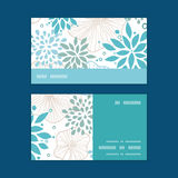 Vector blue and gray plants horizontal stripe Stock Photo