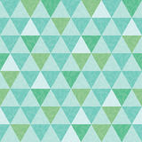 Vector blue and green triangle and leaves texture seamless repeat pattern  Stock Photo